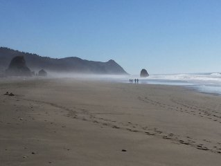 Expansive,safe beach; fun for all ages-close to town. SeaviewGrotto, Gold Beach