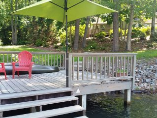 Spacious and Relaxing Lake Home...still available for Labor Day weekend