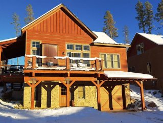 Beautiful Mountain Home - Comfortably Removed Yet Close to All-Season Activities