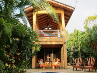 3 MINUTE WALK TO PLAYA GUIONES, NOSARA, COSTA RICA!  -FULLY SCREENED!!!!!!