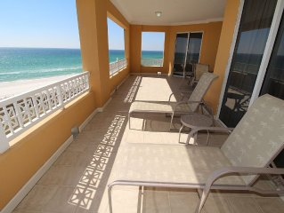 4 BR En Soleil Directly on Gulf, Beautiful with Best Views!!