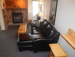 FIRST NIGHT FREE! SLEEPS 12! TRUE Ski in Ski out Closest 2 Chairlift Hot Tub!