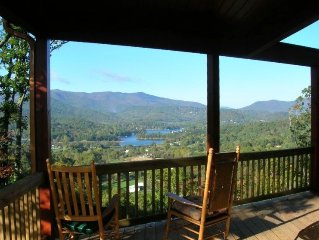 Logan's Ridge: Mountain Home, Spectacular Lake, Mtn Views,