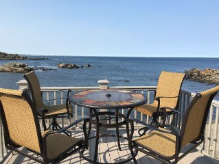 Bold oceanfront luxury 2 bedroom, 2 bath apartments in Perkins Cove.