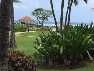 4*Oceanfront Resort, 1st FL Ocean View , 2 dbl beds.