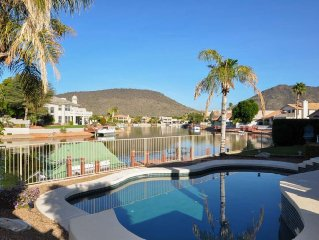 Breathtaking Mountain View W/Pool & Boat on Arrowhead Lakes!