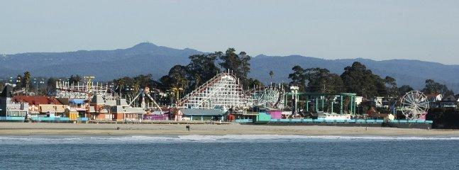 Santa Cruz Boardwalk and Beach