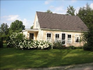 Antique Farmhouse in the Heart of the Mad River Valley