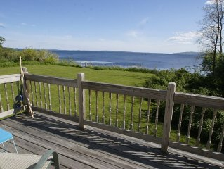 Cozy Maine Oceanfrnt Cottage w Panoramic Views of Penobscot Bay