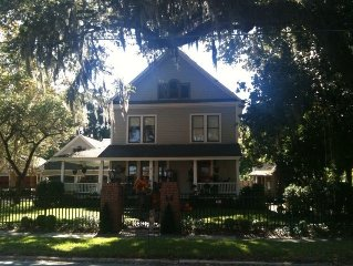 Charming Victorian jewel, Historic District, Central to Daytona,Beach,Orlando