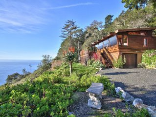 The Ultimate Big Sur Hideaway With Dramatic White Water & Coast Line Views!!