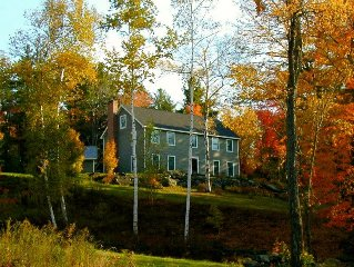 Beautiful Mountaintop Retreat In The Country!