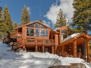 Beautiful 2 Master Suite Home with Hot tub at the Heart of Alpine & Squaw