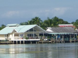 Oceanfront Home Walking Distance To Bocas Town