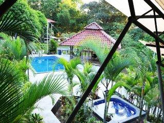 Pool, Sauna, Hot Tub, Fruit Trees, Lush Gardens