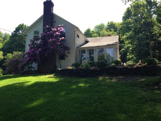 3miles2 Copake Lake 140 yr old farmhouse w/feel of English Country Cottage24acre