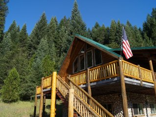 McCloud's Premier Vacation Home sits on 40 acres with 3 miles of Private Trails!