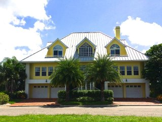 Key West style tropical home on the Gulf of Mexico -fish, boat, sun & fun!