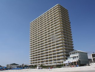 BEAUTIFUL GULF FRONT 1BR/2BA! LOW FLOOR! AMAZING VIEWS AND SUNSETS!