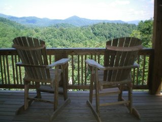 You have found the best-Echota on the Ridge-best view-no steps