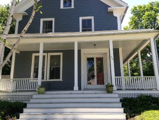 Historic 1850 's Spacious Home-2 Blocks From Belfast Village and the Bay