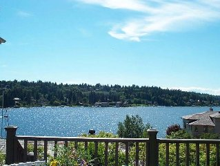 Waterfront View Cottage--5 Star Rating--Private, Serene