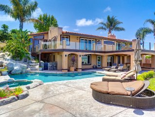 Beautiful Mission San Juan Capistrano Private Hilltop Estate 5 bedroom 5 bath