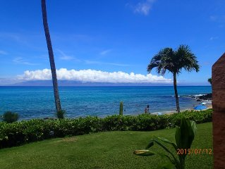 Oceanfront at Kuleana - Ground Floor Condo Steps from Ocean - 5 Star Reviews