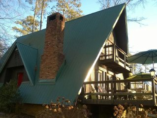Fisher Hollow Waterfront Cabin Lake Guntersville