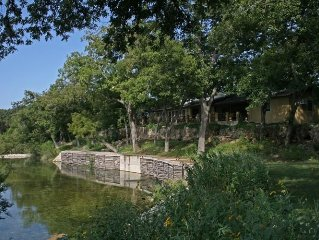 1/2 Mile Private Frio River Front & 200 Acres TX Hill Country/ Near Garner Park