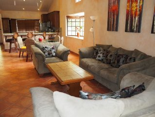 Valle Escondido Villa with Volcano View: Golf, Tennis, Fitness & Spa Available