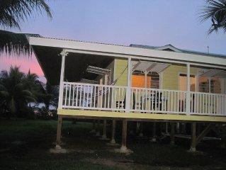 Beachfront Between Bocas Town And Bluff Beach