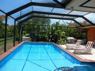 Wonderfull Miami- Cutler Bay Home with Heated Pool! For your Family Vacation