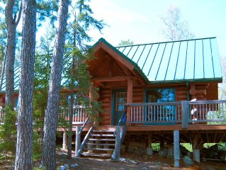 Remote Cabin On 32 Acres Edge Of The Boundary Waters BWCA .  Water Access Only