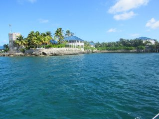 The High House of Tilloo Castle on the Sea of Abaco