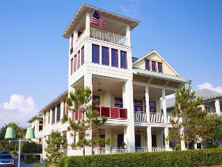 Exclusive Beach District, your 'HAPPY PLACE!' Biggest outdoor living - 9 porches