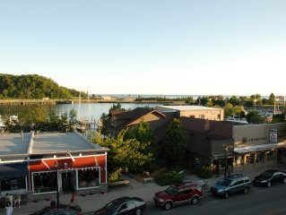 Spacious Condo on Main St. with Views of the Bay, Lake & Town