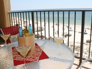 4th floor, Beautiful Beach View from Balcony, Newly Remodeled