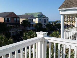 Best Location * Pier and Restaurants, Ocean View, Close Beach Access, Golf Cart