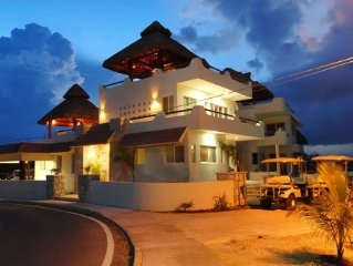 Isla Mujeres, Cancun 1-5 BR, Oceanfront Villa Pool, from $130