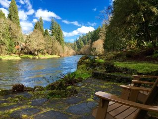 Whispering Pines, on the McKenzie River, Rafting, Hiking, Fishing, Golf