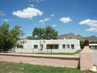 Historic Ranch Adobe 3 BR/2 BA Home on Private Ranch