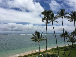 Blue Hawaii Paradise Beachfront Condo