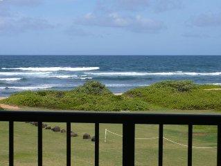 Kauai Beach Resort - True Oceanfront Honeymoon Suite