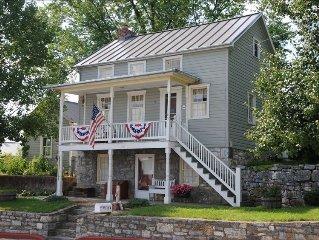 Sharpsburg Retreat--Civil War Home Near Antietam Battlefield, C&O Canal Towpath