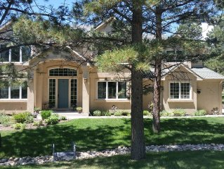 Beautiful custom home on over half acre lot surrounded by pine trees near A.F.A.