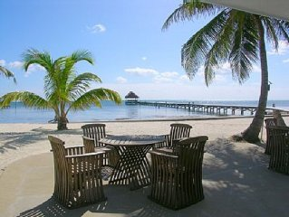 WELCOME TO SUNSET BEACH RESORT!1 br condo on the Caribbean with view of the Reef