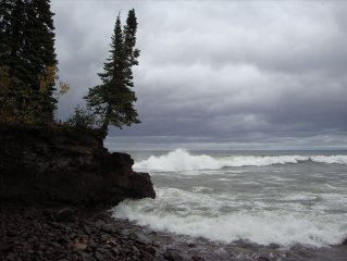 Unbeatable Lake Superior Views in Heart of Lutsen