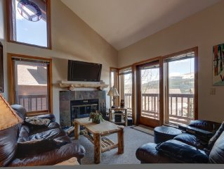 Ski-in/ski-out 4 Bedroom Luxury Condo At Snowflake Lift - SPRING SKI 50% OFF!