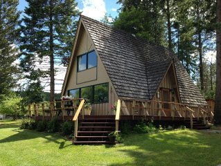 Flathead Lake / Stoner Creek, A-Frame Family Cabin